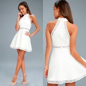 Lulu's | Reach Out My Hand Skater Dress